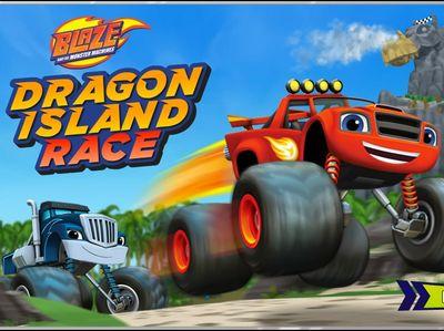 Ο Μπλέιζ και οι φίλοι του - Dragon Island Race