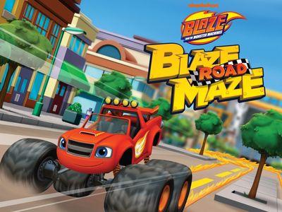 Ο Μπλέιζ και οι Φίλοι του - Blaze Road Maze