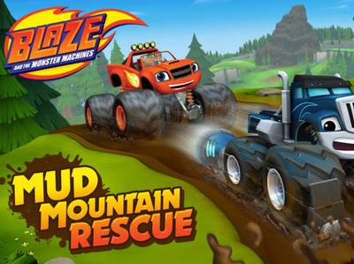 Ο Μπλέιζ και οι φίλοι του - Mud Mountain Rescue
