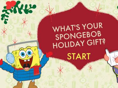 Μπόμπ Σφουγγαράκης: Ποιό είναι το Χριστουγεννιάτικο δώρο σου;