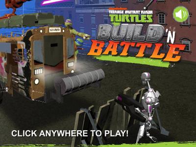TMNT- Build 'N Battle
