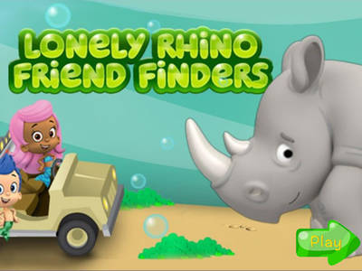 Bubble Guppies- Lonely Rhino Friend Finders