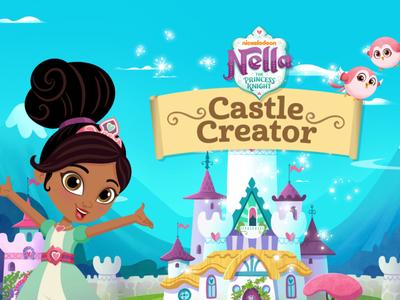 Νέλλα η Πριγκίπισσα Ιππότης - Φτιάξε το κάστρο