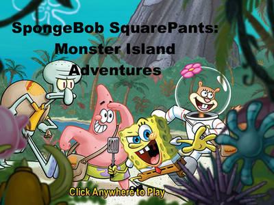 Μπόμπ Σφουγγαράκης - Monster Island Adventures