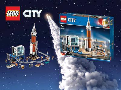 Μεγάλος διαγωνισμός LEGO® City Πύραυλος Εξωδιαστήματος και Κέντρο Ελέγχου!