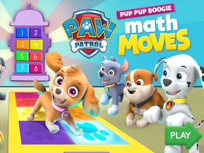 Pup Pup Boogie Math Moves