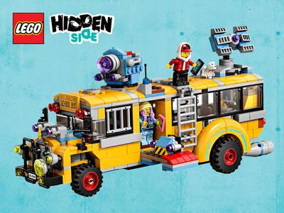 Διαγωνισμός LEGO® Hidden Side™ Λεωφορείο Αναχαίτισης Παραφυσικών Φαινομένων 3000