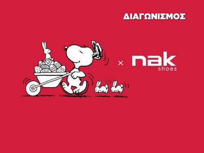 Κερδίστε δωροεπιταγές των 100 euro για τα NAK Shoes!