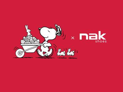 Η NAK Shoes υποδέχεται τον Snoopy® και την συμμορία του!
